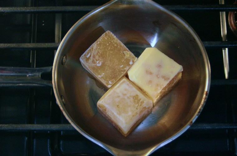 Frozen bone broth cubes