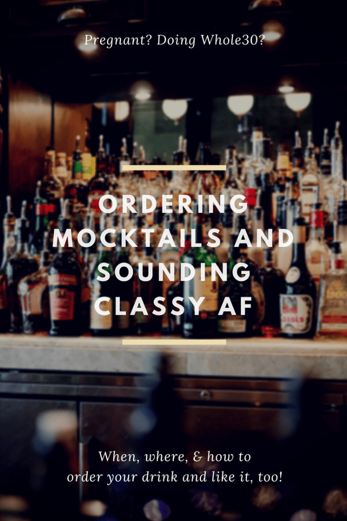 How to order a mocktail and sound classy