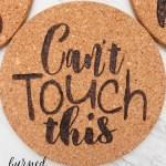 How To Make Custom Cork Trivets Domestically Creative