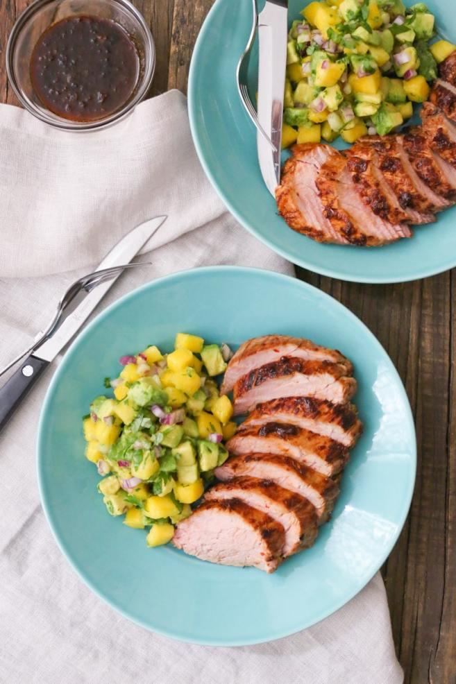 chipotle-pork-tenderloin-with-mango-avocado-salsa
