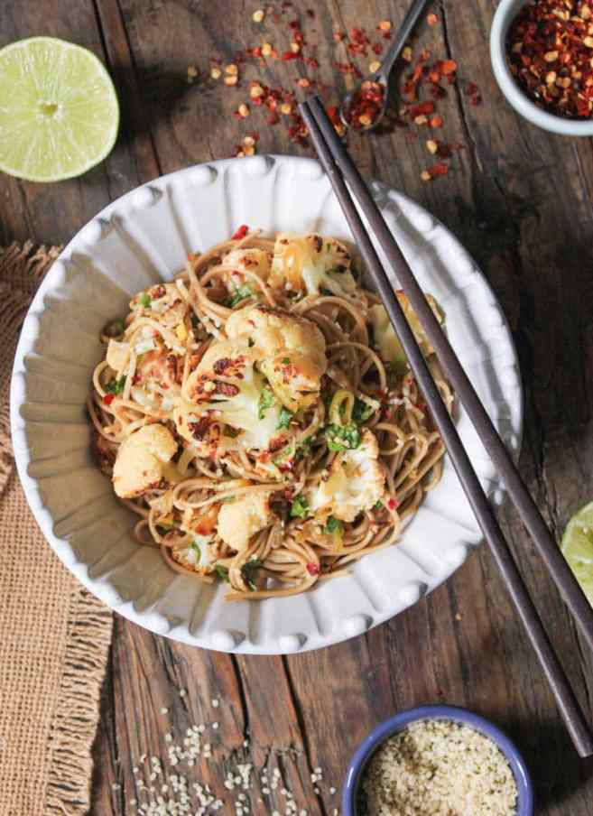 ginger-scallion-soba-noodles-with-roasted-cauliflower