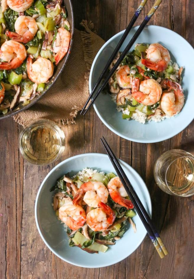 Garlicky-Shrimp-Stir-Fry-with-Shitake-Mushrooms-and-Baby-Bok-Choy