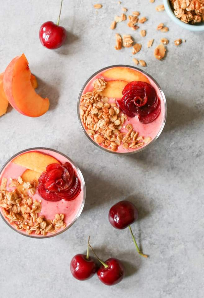 Peach-Cherry-Smoothie-and-Chia-Pudding-Parfaits-2