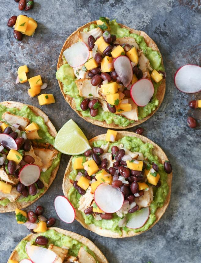 Grilled-Tuna-Tostadas-with-Black-Bean-Mango-Salsa-and-Avocado-3