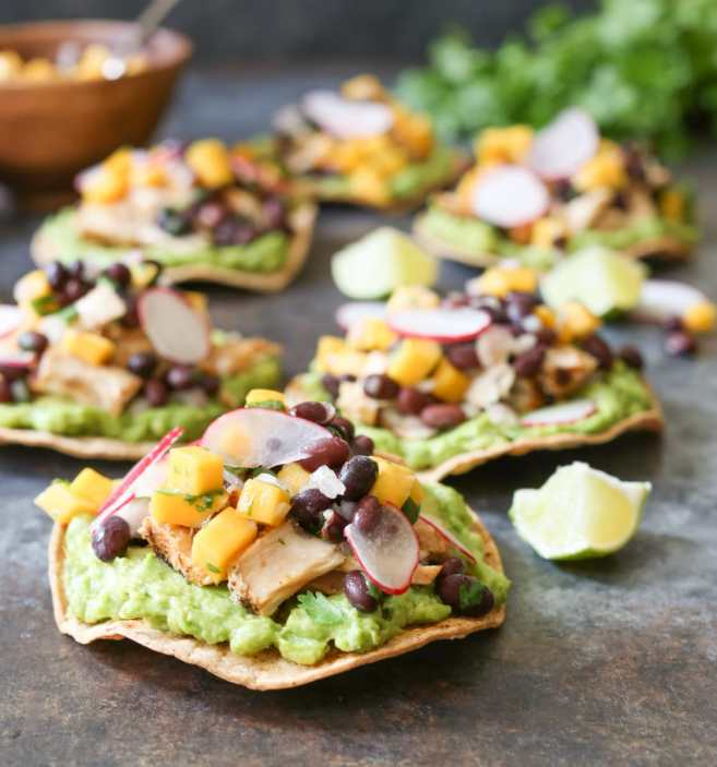 Grilled-Tuna-Tostadas-with-Black-Bean-Mango-Salsa-and-Avocado-4