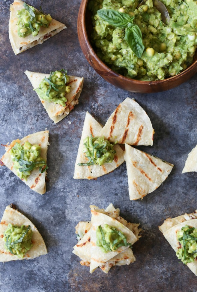 mini-crab-and-bacon-quesadillas-with-sweet-corn-guacamole-8