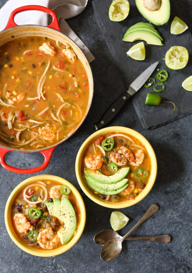 spicy-jicama-tortilla-soup-with-shrimp