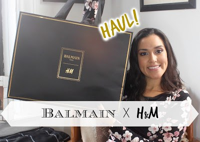 Balmain x H&M Collection Haul