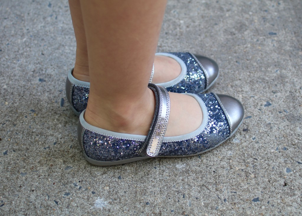 Clarks Kids Glitter Shoes