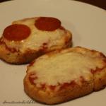 Texas Toast Pizza