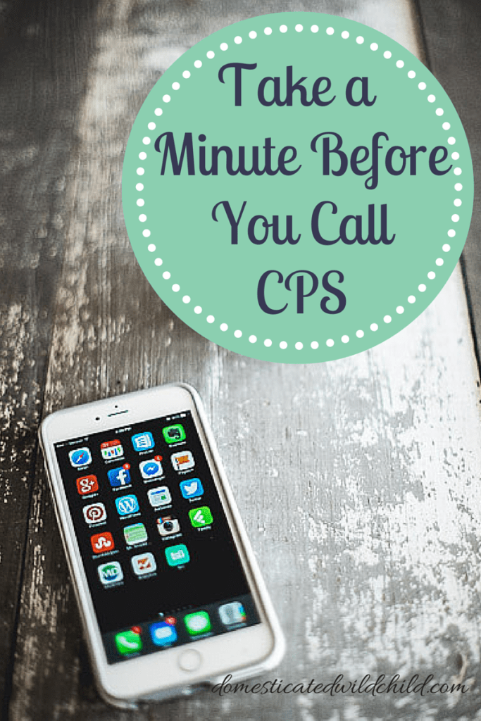 Take a Minute BeforeYou CallCPS
