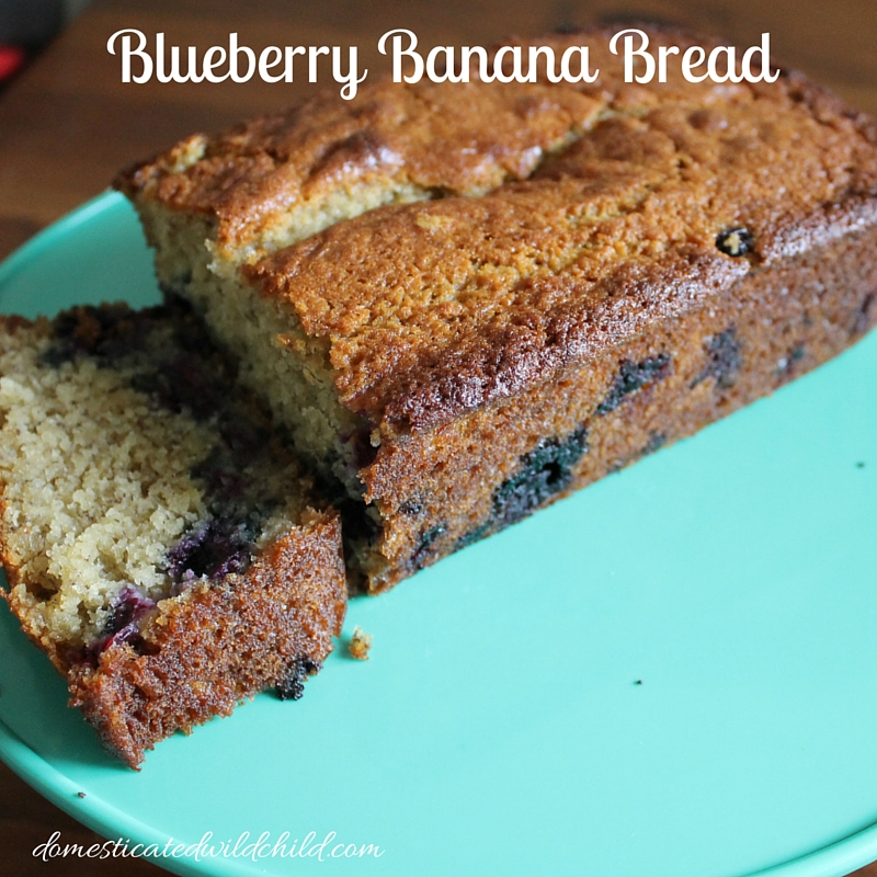 Blueberry Banana Bread