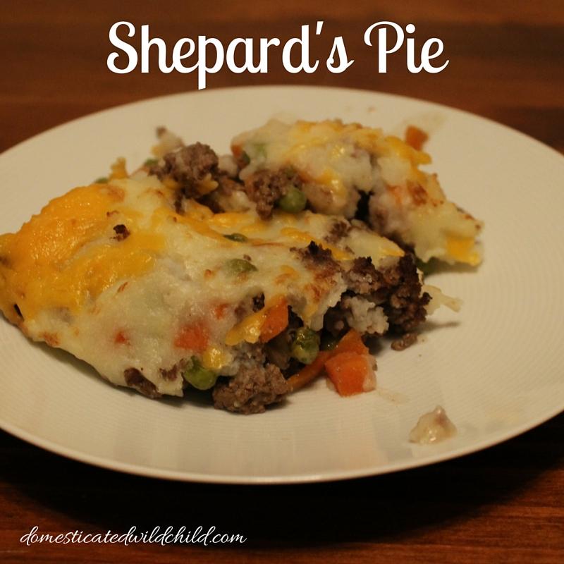 Shepard's Pie