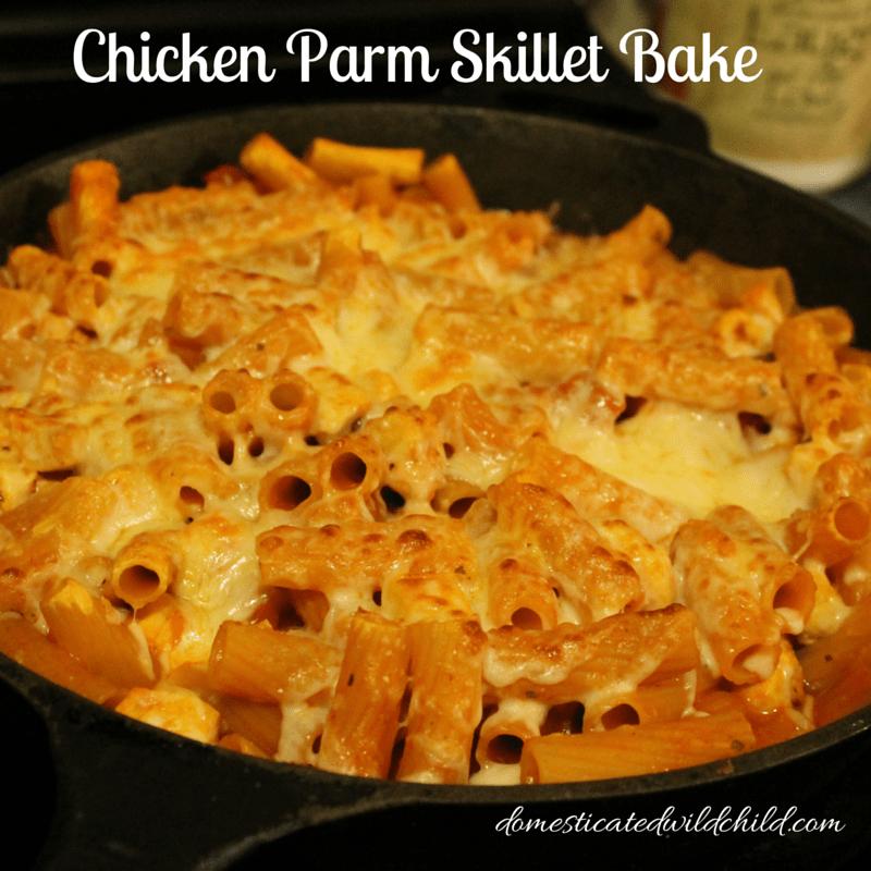 Chicken Parm Skillet Bake