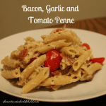 Bacon, Garlic and Tomato Penne