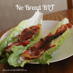 No Bread BLT