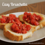 Easy Bruschetta