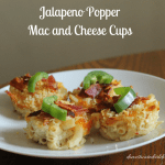 Jalapeno Popper Mac and Cheese Cups