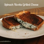 Spinach Ricotta Grilled Cheese
