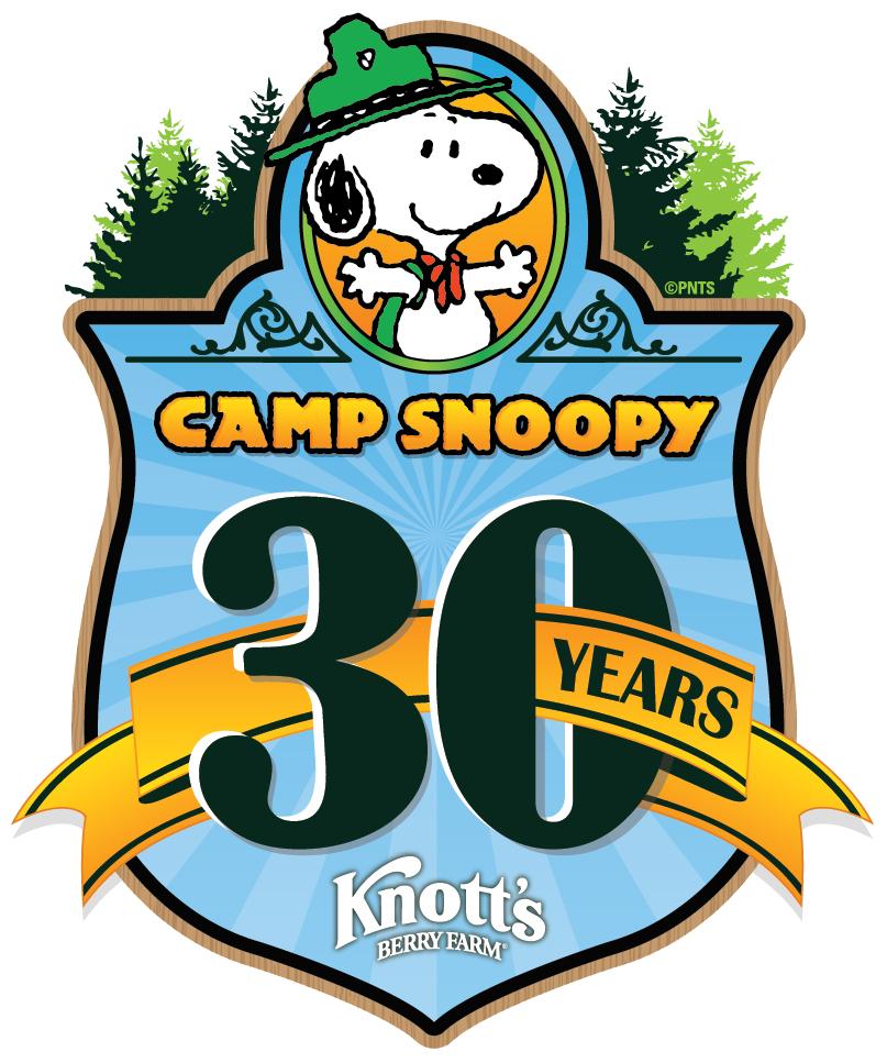 Camp-Snoopy-30th-Anniversary-Logo