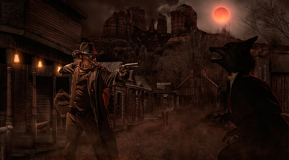 Knott's Scary Farm_The Gunslinger's Grave A Blood Moon Rises