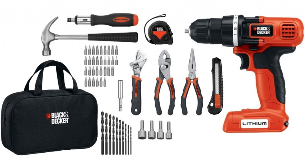 Black  Decker Tool Kit