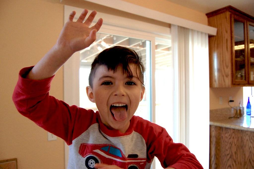 Cameron Apollo at age 5