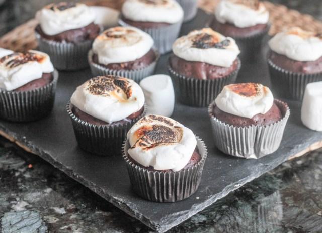 Smores Cupcakes-17
