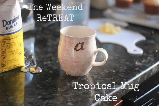 Tropical Mug Cake Domestic Batch