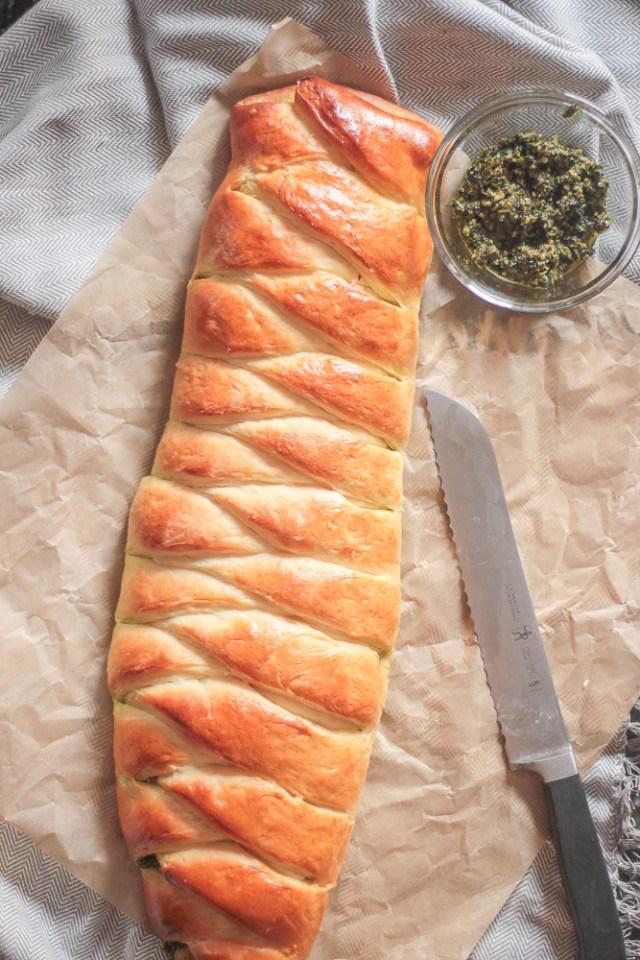 Arugula Pesto Bread   Domestic B(i)atch