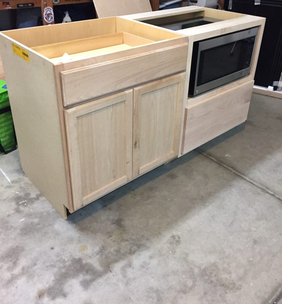 a diy kitchen island make it yourself