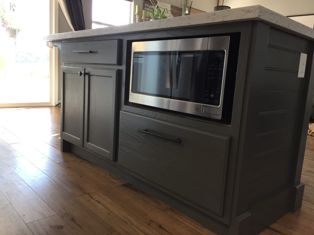 A Diy Kitchen Island Make It Yourself And Save Big Domestic Blonde