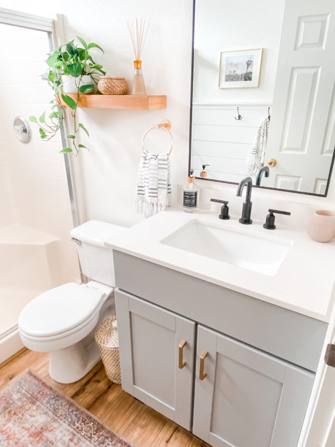 Small Bathroom Remodel Ideas: Befor and After | Domestic ... on Small Bathroom Ideas Pictures  id=95879