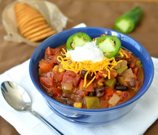 chipotle vegetarian chili