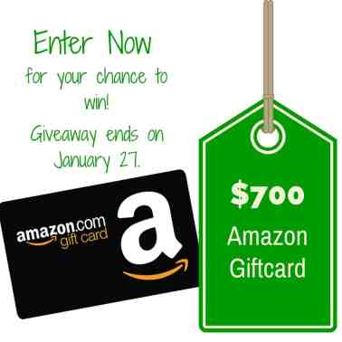 Amazon giveaway www.domesticdee.com