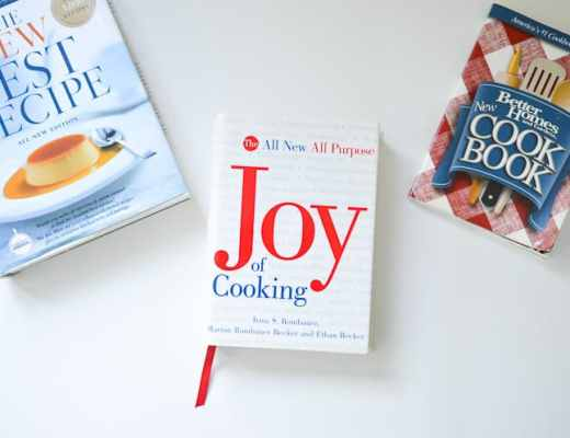 Top Cookbooks-These 3 cookbooks should be in every kitchen. They are filled with knowledge and tips to help you with your cooking skills.