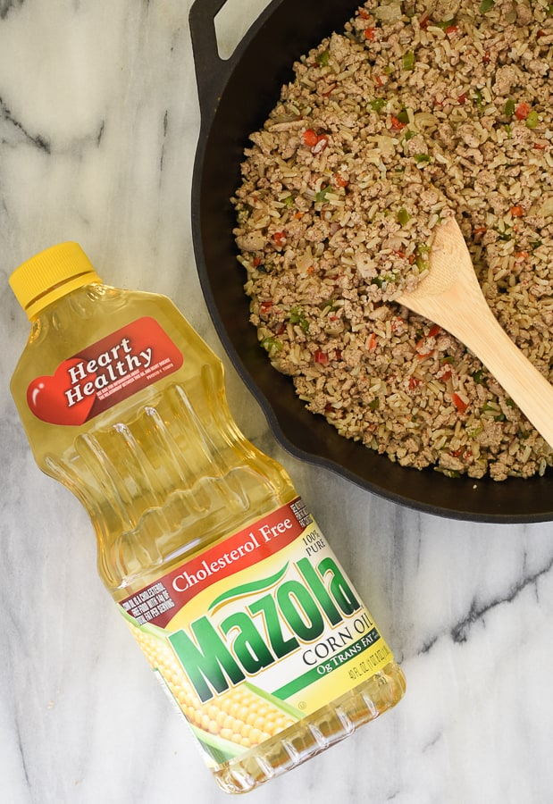 dirty rice with ground turkey-