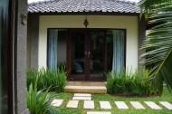 A bedroom pavilion