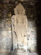 Each of the Prambanan temples had a statue- some are still intact