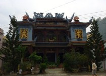 A Chinese temple