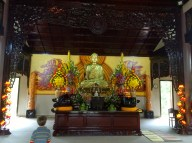 Cian reflecting on the Buddha