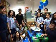 A surprise farewell party from my students