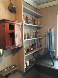 The apothecary at the leprosy museum