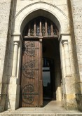 Doorway into the cathedral