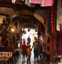 In the souk