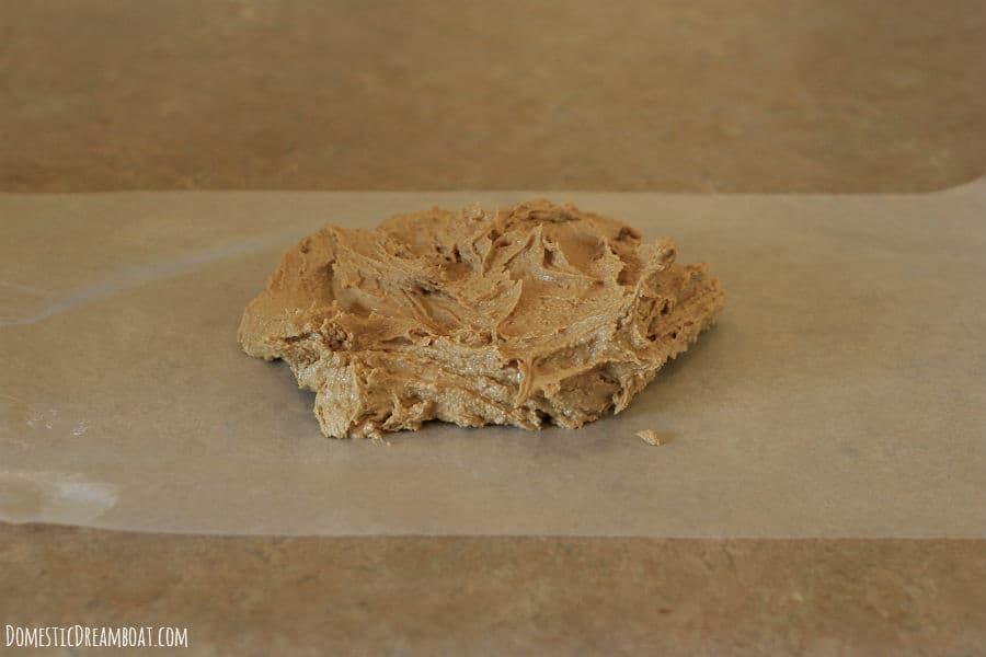 peanut butter dough