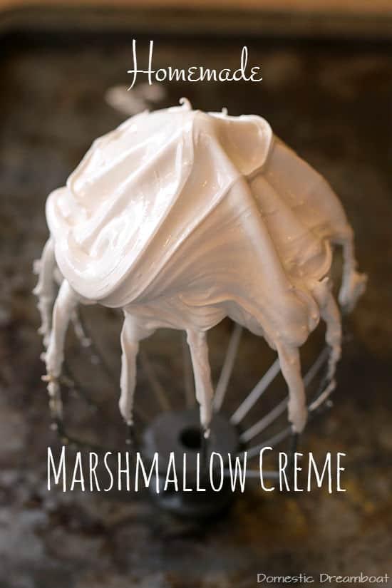 Homemade Marshmallow Creme