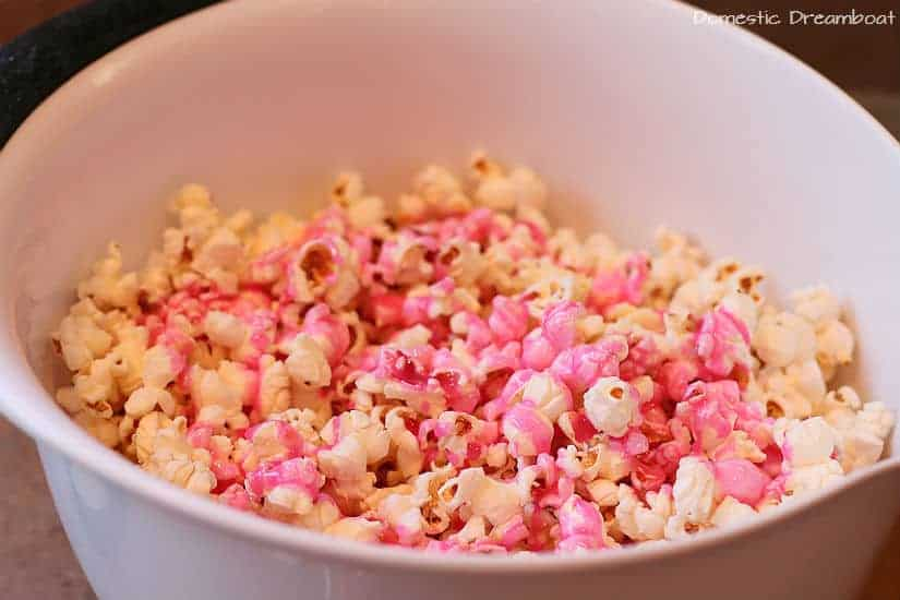Bibble Candy Popcorn: Old Fashioned Pink Popcorn (GF, Vegetarian)