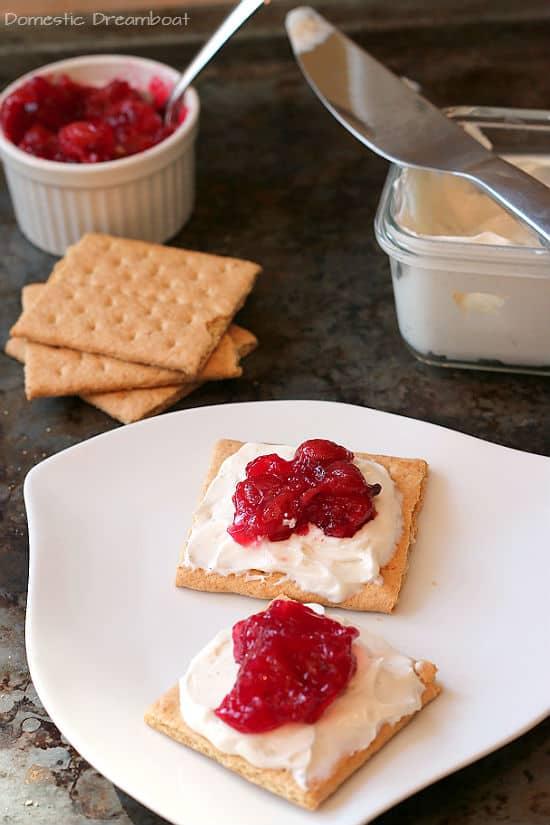 Cherry cheesecake bites 2