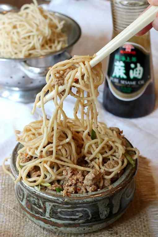 Quick and Easy, Healthier Dan Dan Noodles